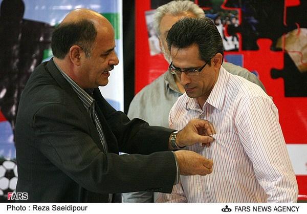 نشست خبري مسابقه فوتبال خيريه بين دو تيم استقلال و هنرمندان