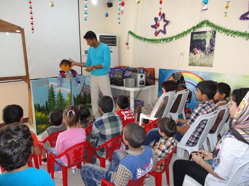 یک روز شاد و به یاد ماندنی برای کودکان هموفيلي خوزستاني