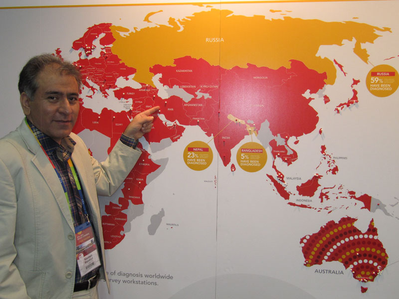 شركتكانون هموفيلي ايران در كنگره جهاني هموفيلي2014 ملبورن استراليا (1)