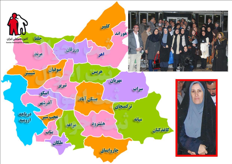 دفتر نمایندگی استان آذربایجان شرقی پیشتاز در ارتباط با شهرهای استان