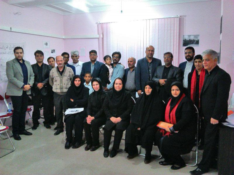 گزارش فعالیتهای مهرماه و دهه اول آبان  دفتر نمایندگی سیستان و بلوچستان