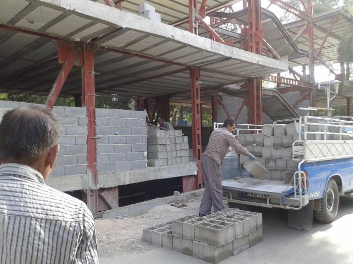 پروژه ساخت مرکز خدمات فارس یک گام اساسی به جلو برداشت