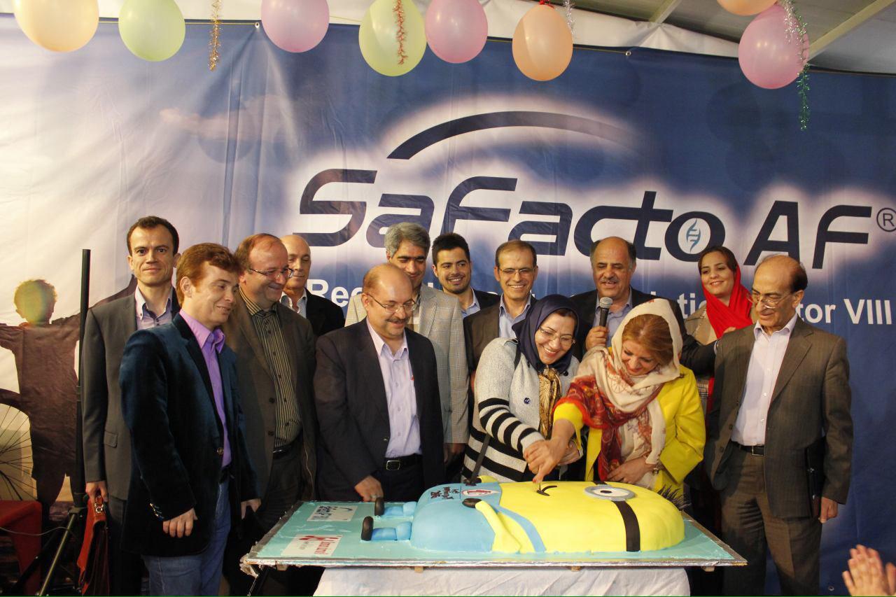 فاکتور ۸ ایرانی به کمک بیماران هموفیلی میآید