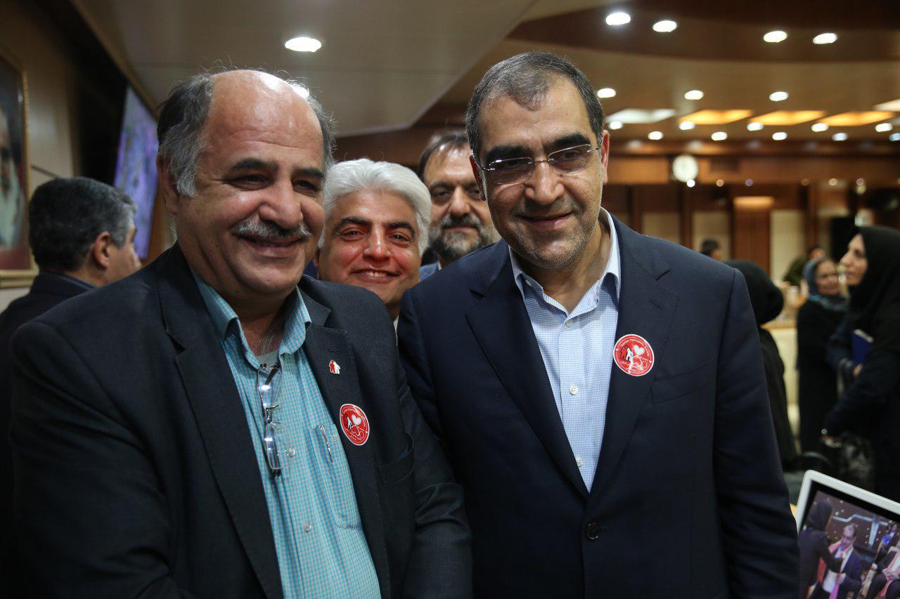 دیدار نوروزی با وزیر ارشمند، کوشا و مردمی بهداشت آقای دکتر هاشمی