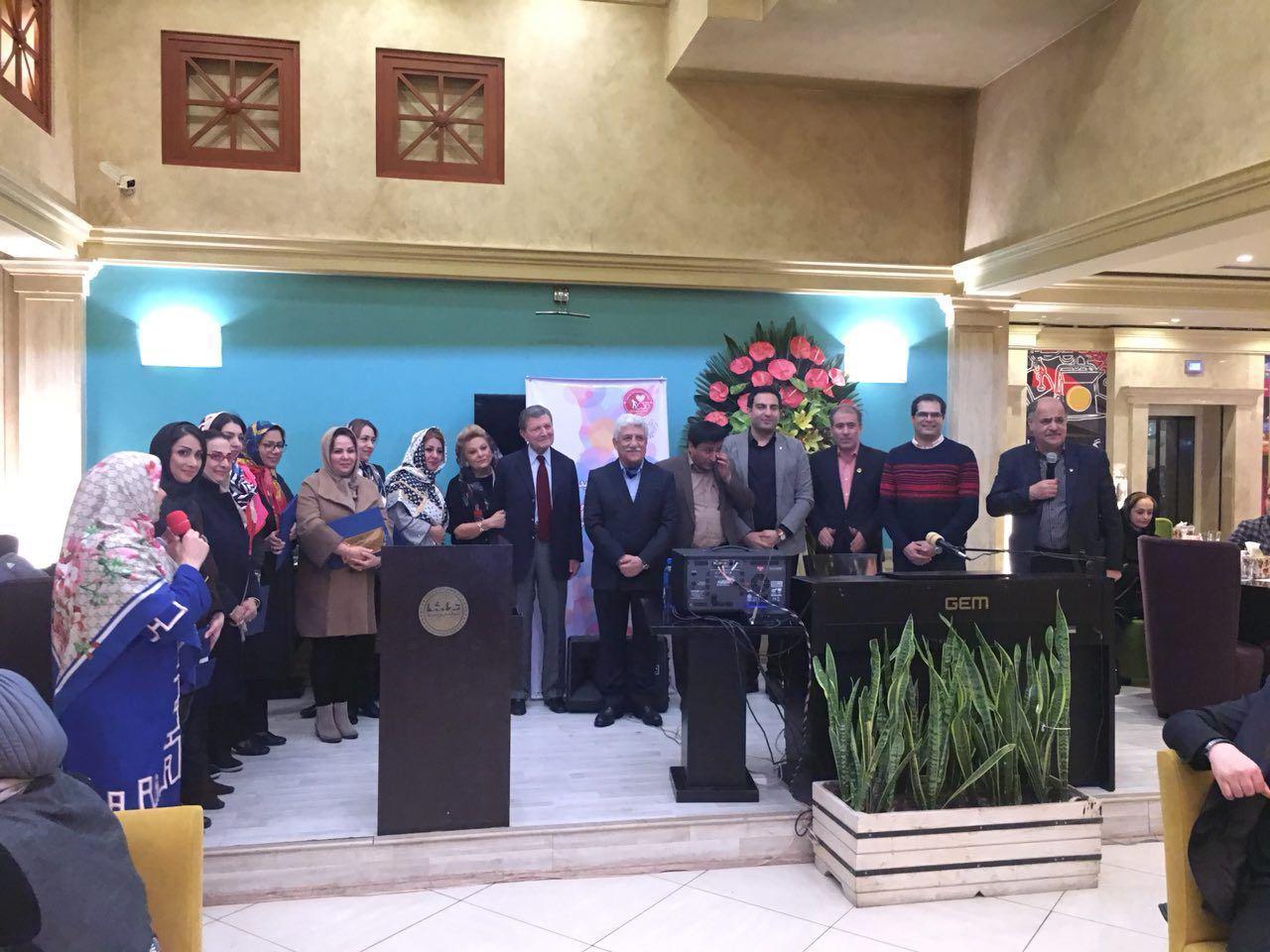 جلیل و تقدیر از پرستاران بیمارستان های امام خمینی (ره)، بیمارستان مفید و درمانگاه جامع هموفیلی ایران