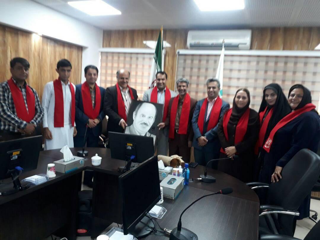 دیدار مدیر عامل کانون با شورای برنامه ریزی یاوران دفتر نمایندگی کانون هموفیلی ایران در استان سیستان و بلوچستان