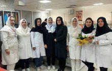 گرامیداشت روز پرستار در درمانگاه خون بیمارستان کودکان تبریز
