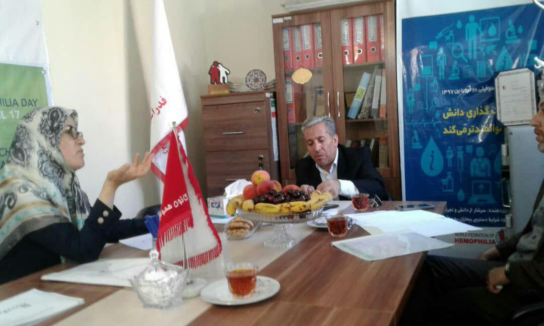 بازدید مدیرکل محترم امور اجتماعی استانداری به همراه مدیر محترم سازمانهای مردم نهاد