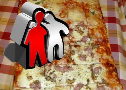 پخت  طولاني ترين پيتزاي جهان در جزيره كيش