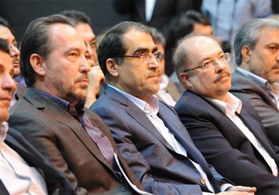 شرکت مدیران کانون در مراسم تودیع و  معارفه مدیر عامل سازمان انتقال خون ایران