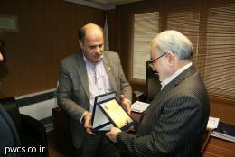 قدردانی مدیرعامل کانون هموفیلی ایران از مدیر عامل شرکت انبارهای عمومی و خدمات گمرکی ایران