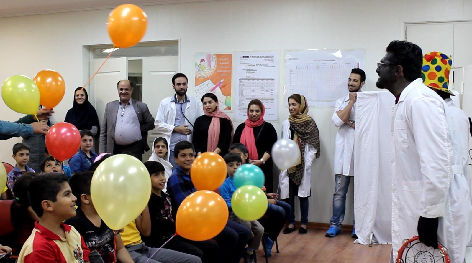 پزشکان معالج هموفیلی با داروی شادی!