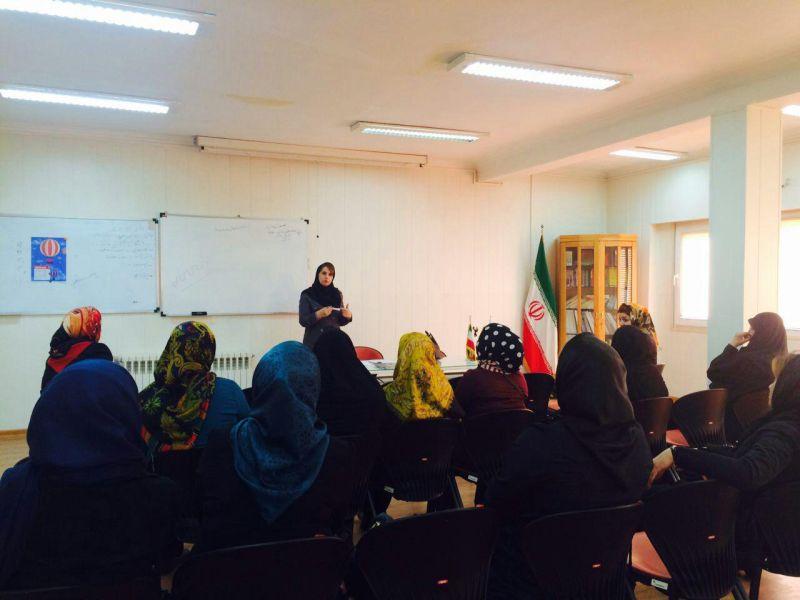 کارگاه مهارت های ارتباطی همسران دفتر تهران