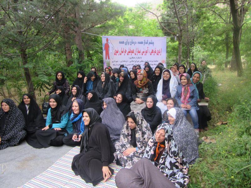 گزارش اردوی درگز – چلمیر  دفتر نمایندگی کانون در استان خراسان رضوی