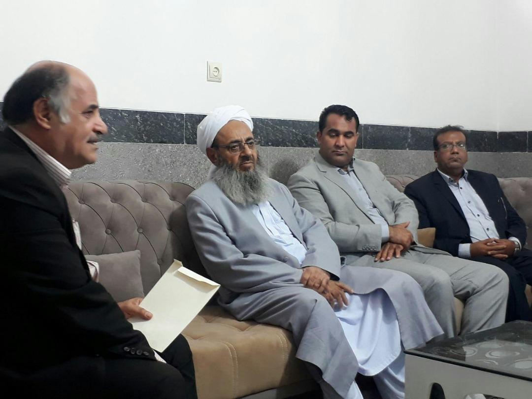 دیدار مدیر عامل کانون هموفیلی ایران با حضرت مولوی عبدالحمید رو حانی نیک اندیش اهل تسنن