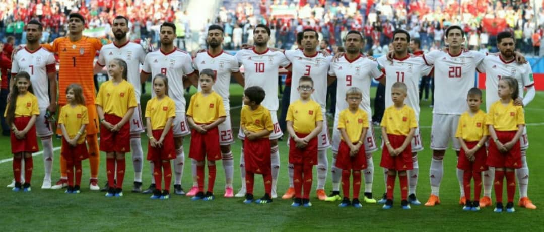 تبریک صدر نشینی تیم ملی فوتبال کشورمان