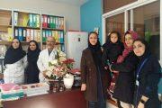 تقدیر کانون هموفیلی ایران از پرستاران مرکز هموفیلی بیمارستان مفید تهران