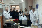 تجلیل از پرستاران درمانگاه هموفیلی بیمارستان امام خمینی