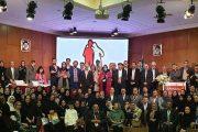 گروهی از شرکت کنندگان در سمینار ملی هموفیلی و دیگر اختلالات انعقادی