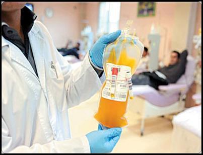 از صنعت پلاسمای خون ایران حمایت کنیم