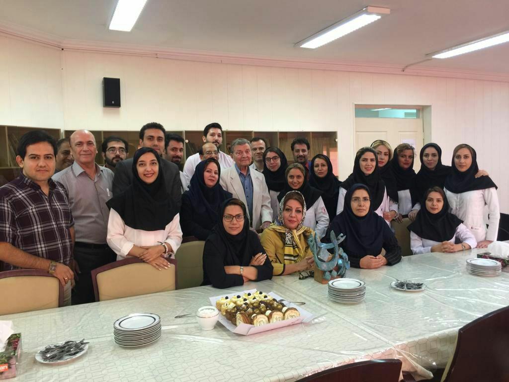 خداحافظی دیگر با استاد علا بنیانگذار سازمان انتقال خون ایران و پدر جامعه هموفیلی